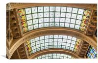 Glass roof, Canvas Print