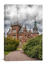 New Kulla Gunnarstorp Castle, Canvas Print
