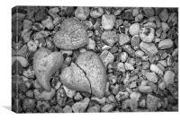 Hearts of Stone, Canvas Print