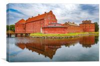Landskrona Citadel in Sweden, Canvas Print