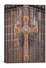 Artistic Cross, Canvas Print