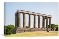 Edinburgh National Monument, Canvas Print