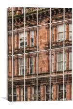Glasgow Modern Vintage, Canvas Print
