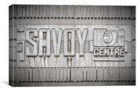 Glasgow Savoy Centre, Canvas Print