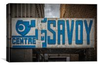Savoy Centre Glasgow, Canvas Print