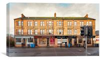 Clydebank Sandstone Tenement Kilbowie Road, Canvas Print