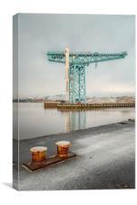 Clydebank Titan Crane, Canvas Print