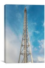 Glasgow Observation Tower, Canvas Print