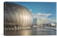 Glasgow Scotland Clydeside, Canvas Print