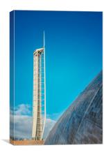 Observation Tower in Glasgow, Canvas Print