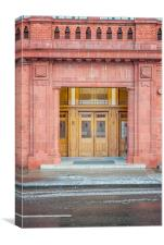 Rangers Ibrox Stadium Entrance, Canvas Print