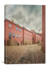 Varberg Fortress in Sweden, Canvas Print