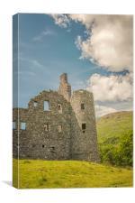 Kilchurn Castle Ruin, Canvas Print