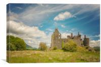Kilchurn Castle Landscape, Canvas Print