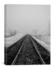 Journey into Winter, Canvas Print