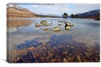 Loch Ossian, Canvas Print