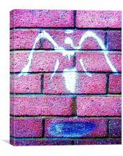 Urban Angel- Pink, Canvas Print