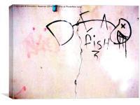 Dead Fish- Unique Urban Photography, Canvas Print