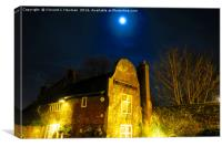 Adam and Eve Public House, Norwich, England, Canvas Print