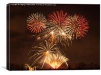 Fireworks #1, Canvas Print