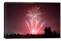 Fireworks #2, Canvas Print