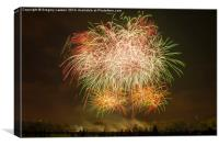 Fireworks #4, Canvas Print