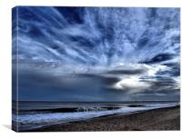 Scroby Sands Wind farm, Canvas Print