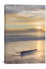 Driftwood at Dawn, Canvas Print