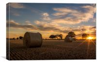 Harvests End, Canvas Print