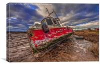 The Red Boat, Canvas Print