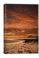 Celtic Sunset, Canvas Print