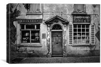 Corran Bookshop., Canvas Print