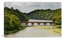 Eight Arch Bridge, Canvas Print