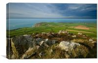 The View To Strumble Head, Canvas Print