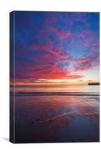 Saundersfoot Sunrise, Canvas Print