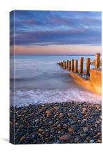 Amroth Sunrise, Canvas Print