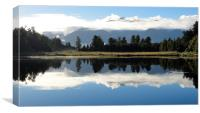 Lake Matheson New Zealand, Canvas Print