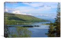 Colintraive to Bute, Canvas Print
