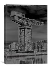 Finnieston Crane, Canvas Print