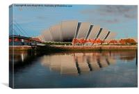 The Armadillo - Glasgow, Canvas Print
