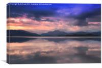 Loch Lomond Nights, Canvas Print