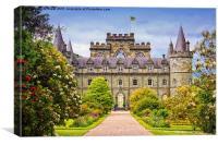 Inveraray Castle , Canvas Print