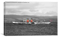 PS Waverley , Canvas Print