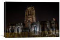 Anglican Cathedral, Canvas Print