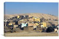 The Nubian Village of Gurna, Canvas Print