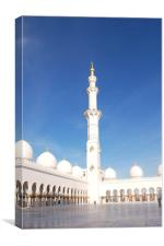 Sheikh Zayed Grand Mosque, UAE, Canvas Print
