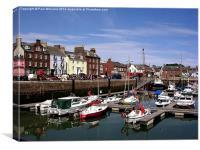 Arbroath Harbour, Canvas Print