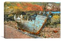 The Wreck, Canvas Print