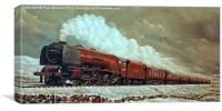 46228 Duchess of Rutland  , Canvas Print