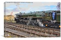 """70013 """"Oliver Cromwell"""", Canvas Print"""
